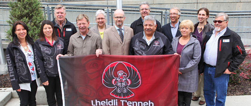 In June of 2015, Mayor and Council formally and permanently raised the Lheidli T'enneh flag in front of Prince George City Hall