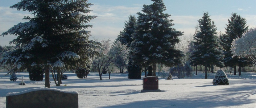 The Memorial Park Cemetery in Prince George
