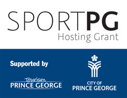 SportPG Hosting Grant - Supported by Tourism Prince George and City of Pricne George
