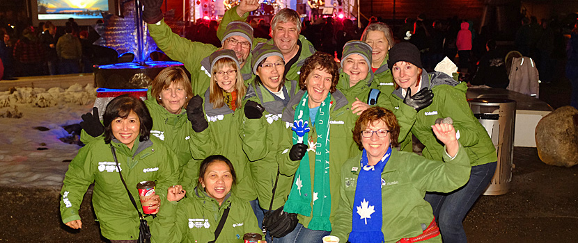 Nearly 4,000 Prince George residents volunteered for the 2015 Canada Winter Games and wore the iconic green jackets
