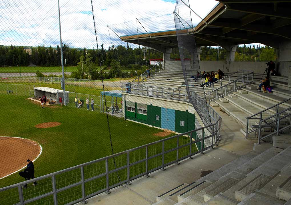 Citizen Field's grandstand.